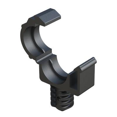Schlauchklemme mit lamellenbasis - ISC Plastic Parts